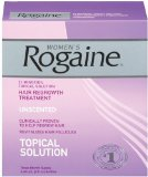 Rogaine for Women Hair Regrowth Treatment, 3 Count Pack, 2 Ounce Bottles